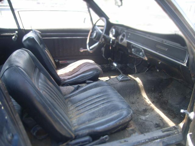 Interior Mercury Cougar