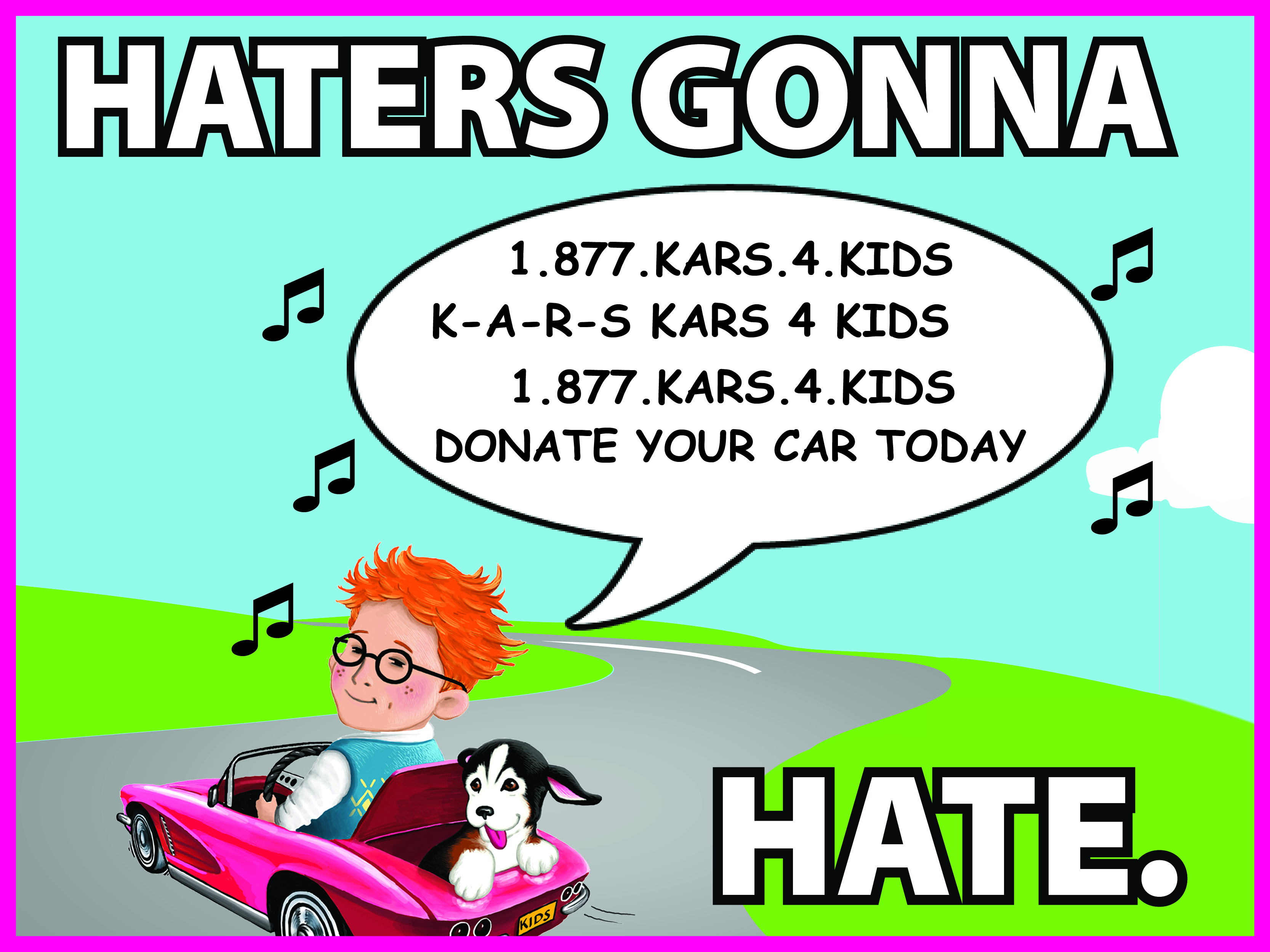 K4K haters gonna hate