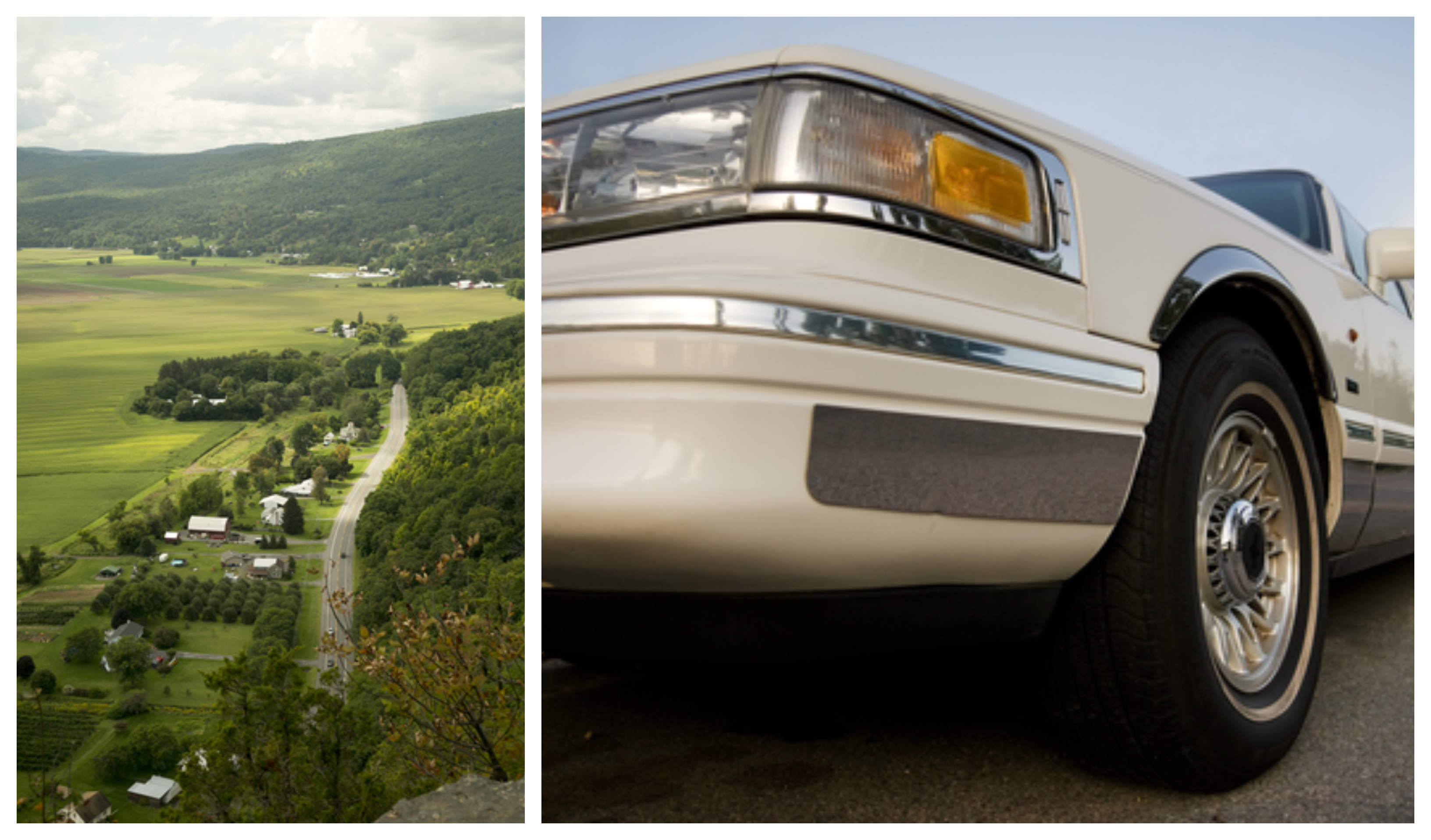 Scoharie County, Upstate New York, stretch limousine