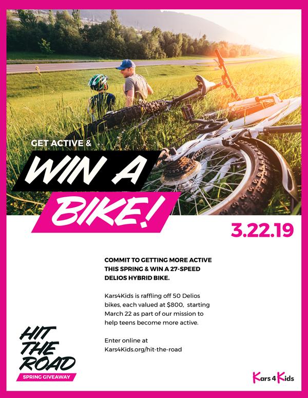 Kars4Kids Bike Giveaway