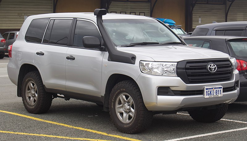 2017 Toyota Land Cruiser, one of the five oldest car models still in production. EurovisionNim, CC BY-SA 4.0 <https://creativecommons.org/licenses/by-sa/4.0>, via Wikimedia Commons