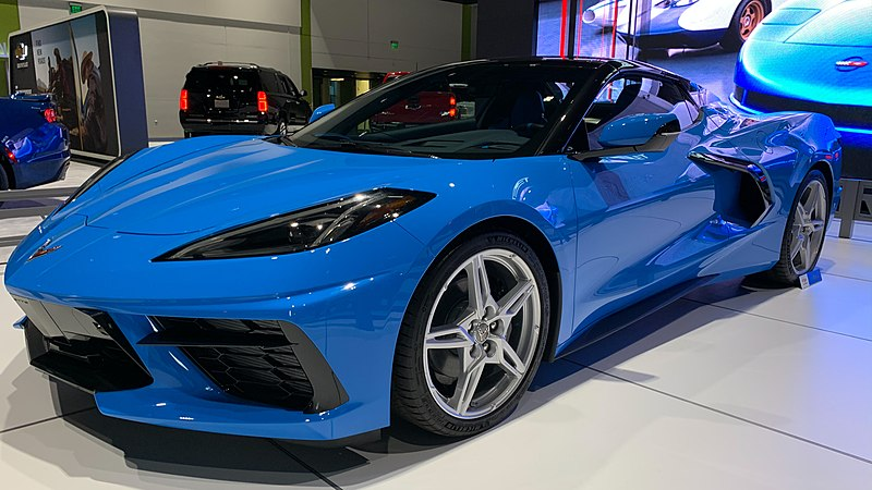 2020 Chevrolet Corvette, one of the five oldest car models still in production.Don DeBold, CC BY 2.0 <https://creativecommons.org/licenses/by/2.0>, via Wikimedia Commons