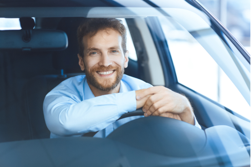 New car owner is satisfied he bought the safest car possible